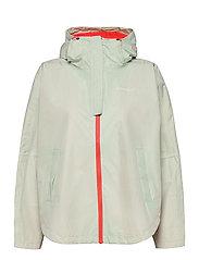 Silhouette Poncho Jacket - MIST
