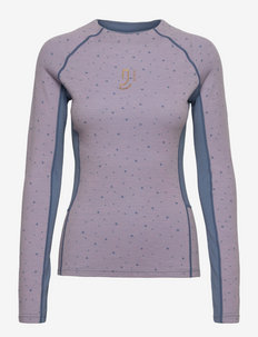 Maven Wool Long Sleeve - underställströjor - pinkl