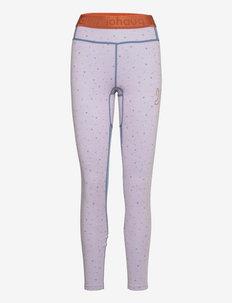 MAVEN WOOL PANT - spodnie termoaktywne - pinkl