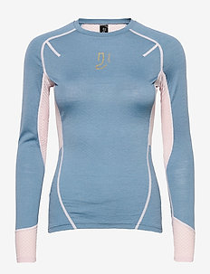 Lithe Tech-Wool Long Sleeve - thermo ondershirts - blues