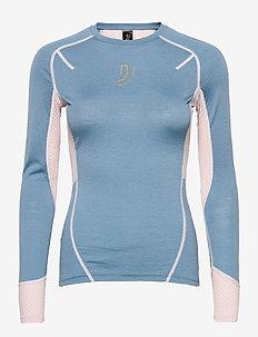 Lithe Tech-Wool Long Sleeve - maillot de corps thermique - blues