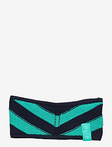RIPPLE SPORTKNIT WIDE HEADBAND - EVEBL