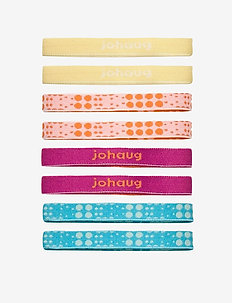 Johaug Hair Elastic 8pk - hiuspannat - dusty
