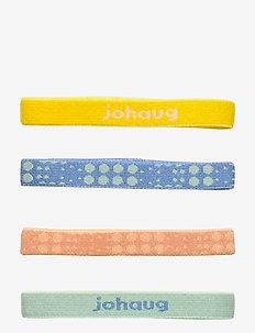 Johaug Hair Elastic 8pk - haar accessoires - sgree