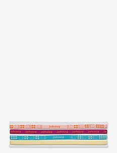 JOHAUG HAIRBAND 4PK - hiuspannat - dusty