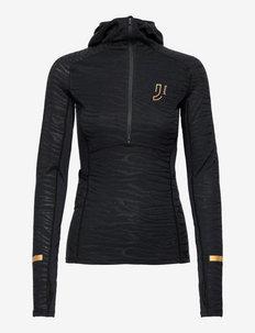Advance Tech-Wool Hood - bluzki termoaktywne - tblck