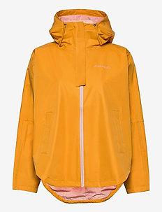 Silhouette Poncho Jacket - friluftsjackor - sunfl