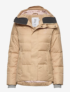 Cocoon Down Jacket - BEIGE