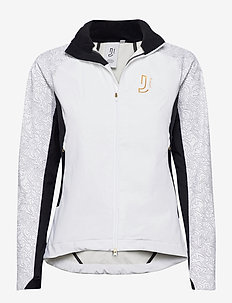Accelerate Jacket - sportsjakker - white