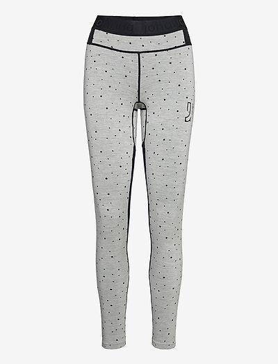 MAVEN WOOL PANT - termo leggings - greym