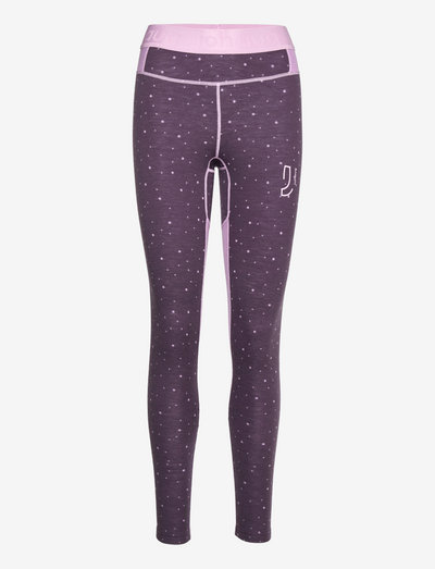 MAVEN WOOL PANT - termo leggings - night