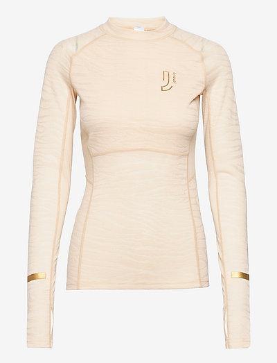Advance Tech-Wool Long Sleeve - underställströjor - skiss