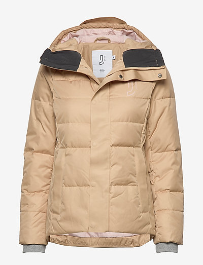 Cocoon Down Jacket - friluftsjackor - beige