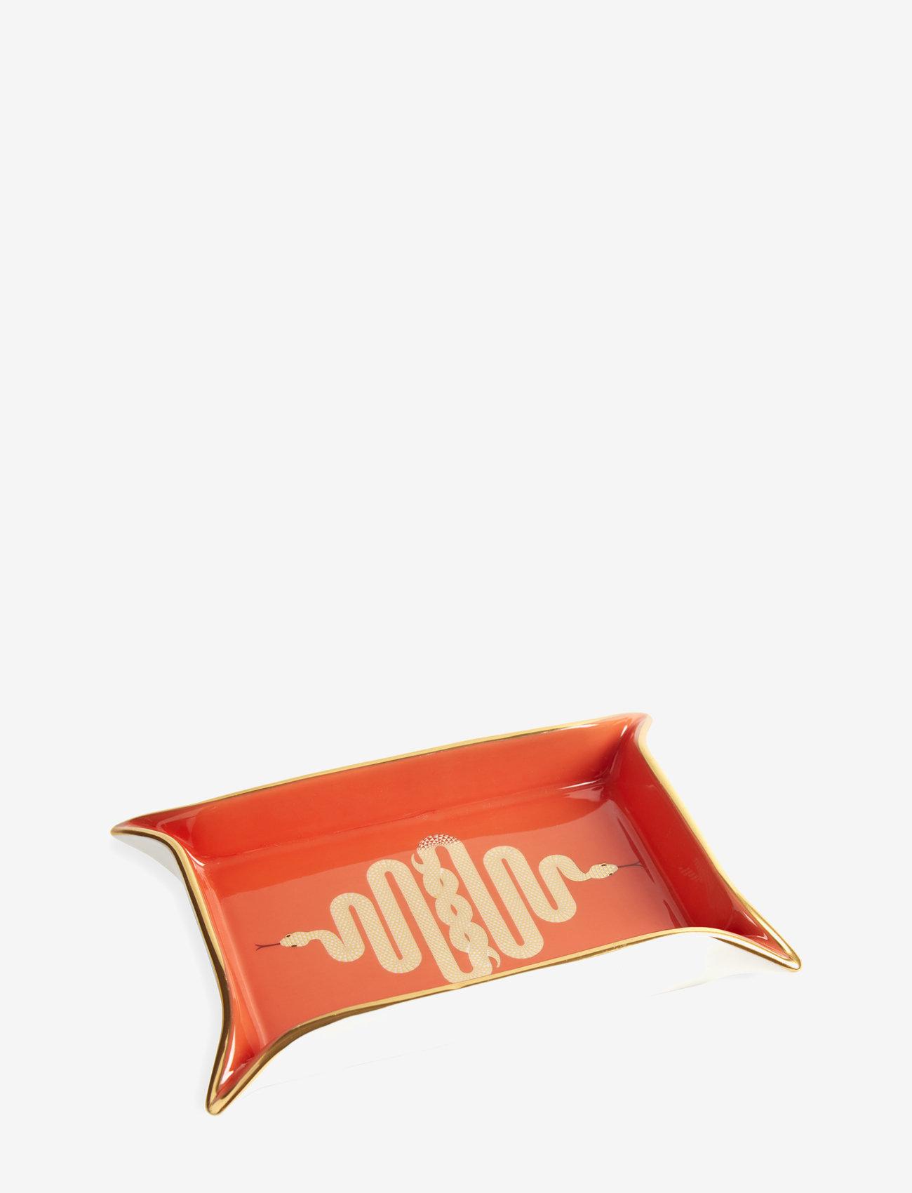 Jonathan Adler - Snake Valet Tray - dekorative fat - orange - 0
