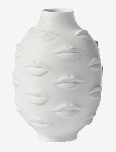 Gala round vase - køb efter pris - white