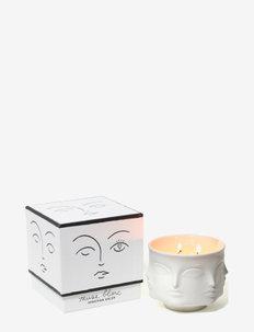 Muse Blanc Candle - bloklys - white