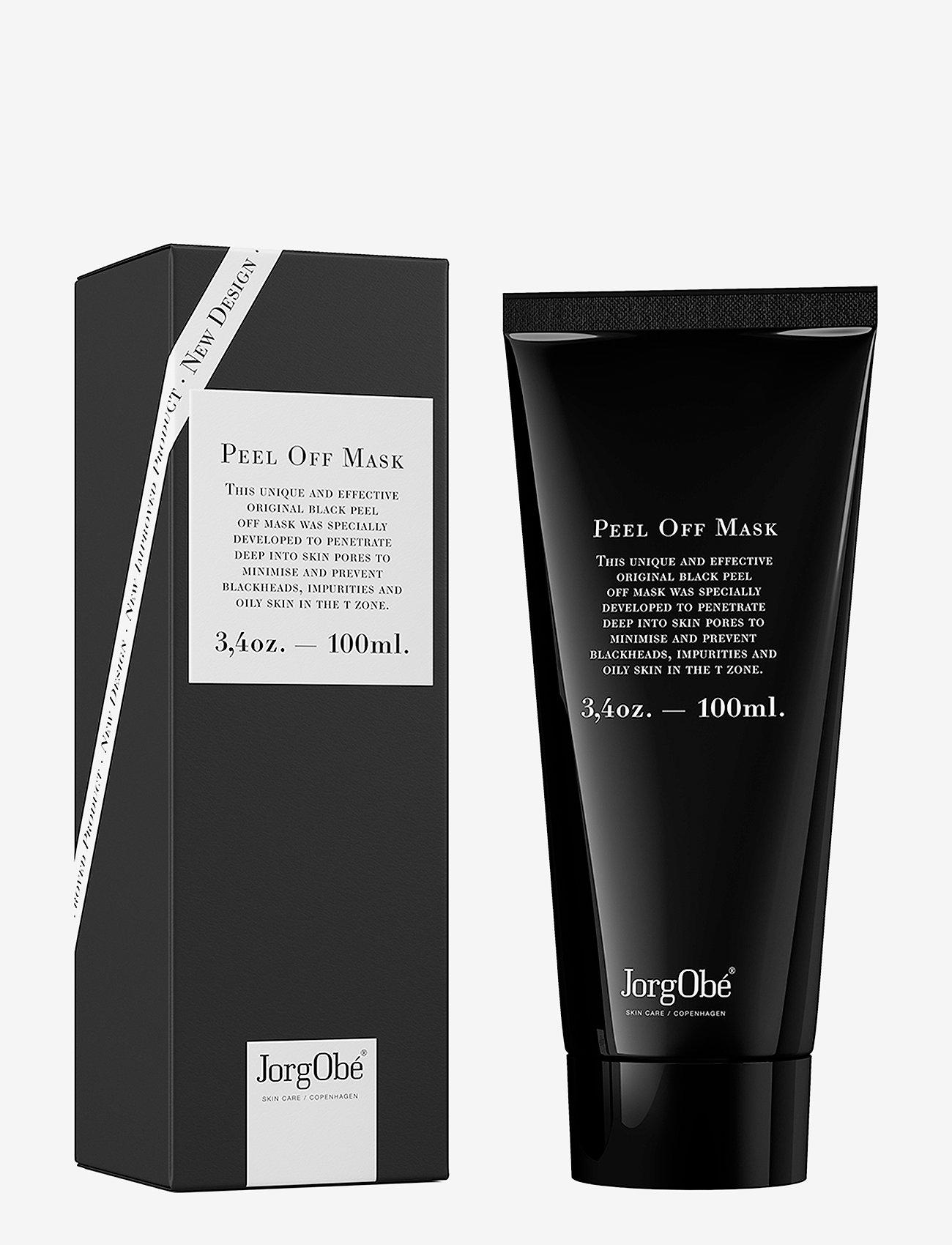 Jorgobé - The Original Black Peel Off Mask - ansiktsmask - black - 1