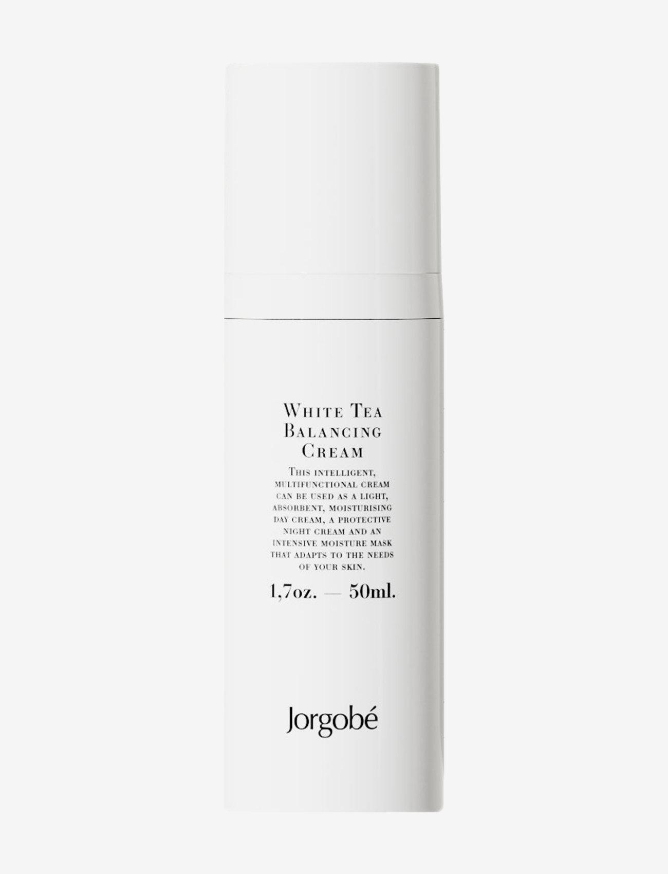 Jorgobé - White Tea Balancing Cream - dagkrem - white - 0
