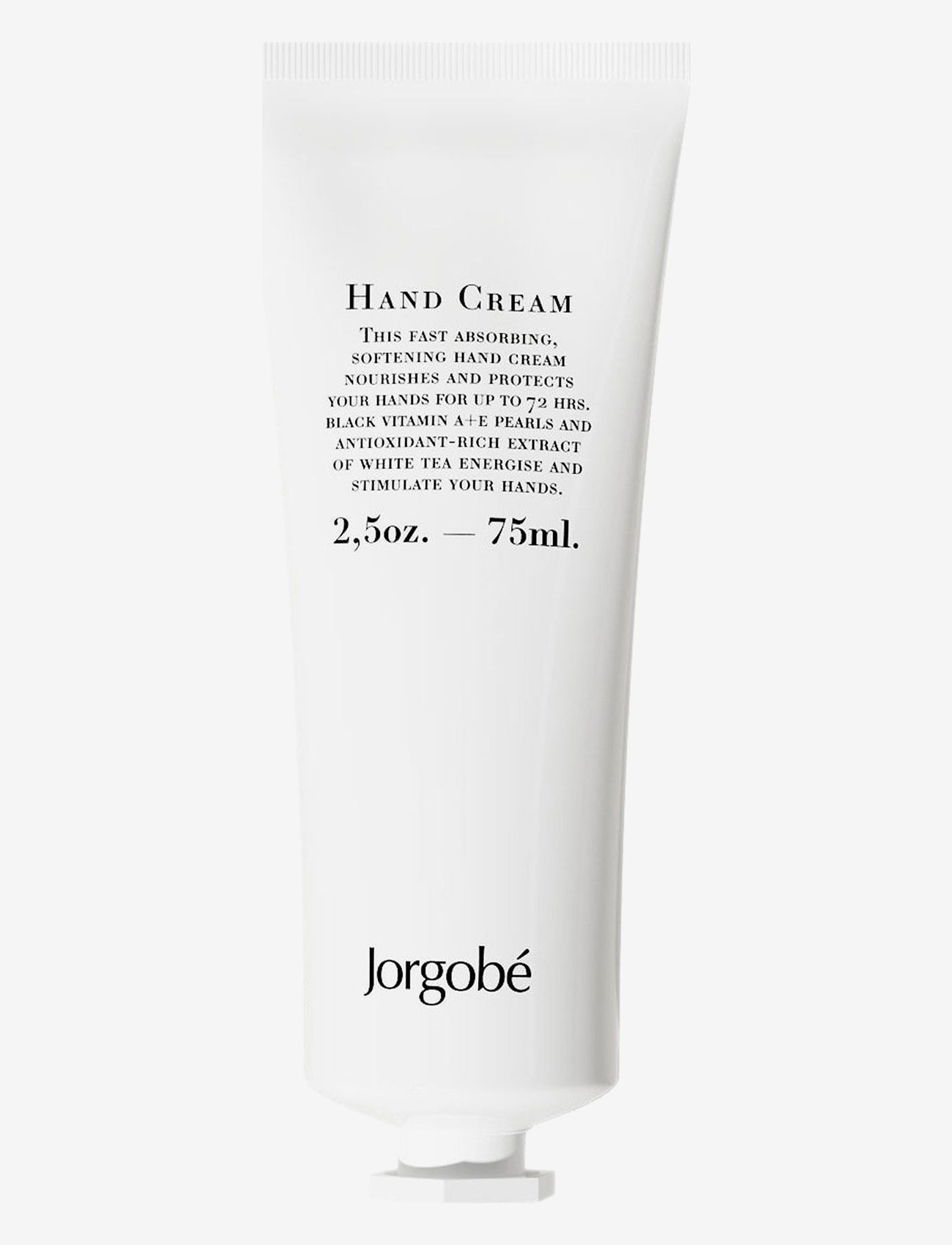 Jorgobé - Hand Cream - håndkrem - white with black pearls - 0