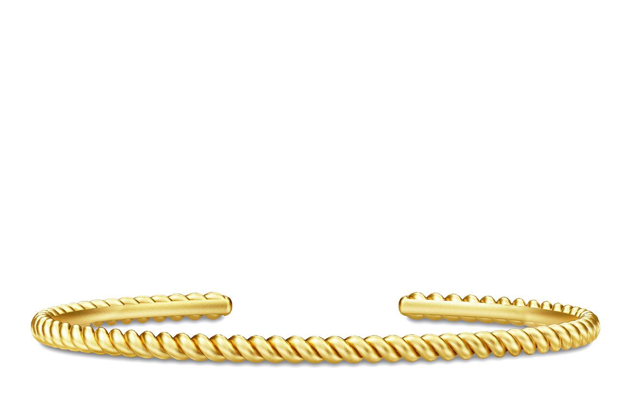Julie Sandlau Twisted Bangle - Gold - GOLD