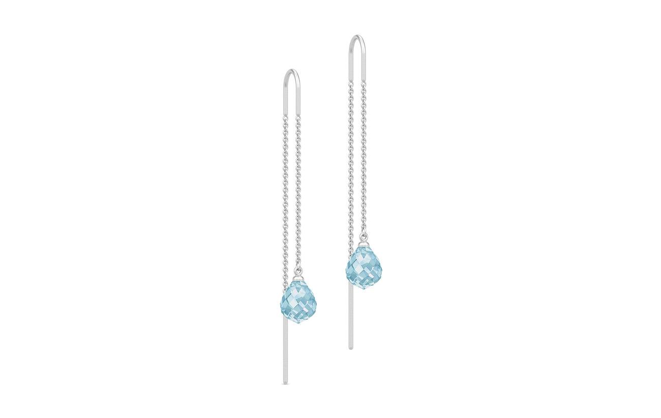 Julie Sandlau Evening Dew Earrings - Rho/Blue - BLUE