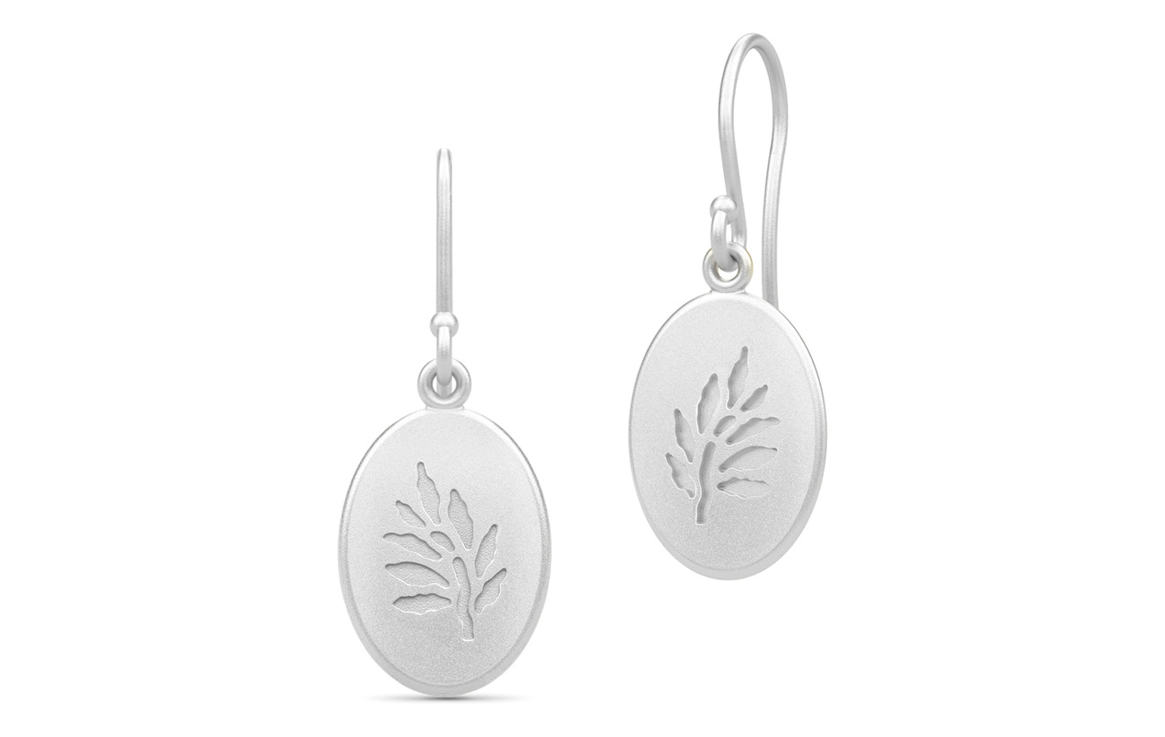 Julie Sandlau Classic Earrings - Rhodium - SILVER