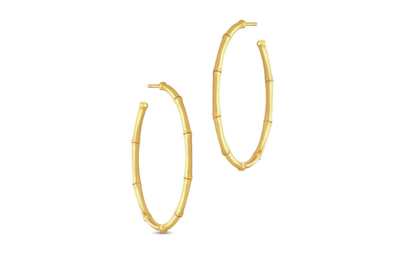 Julie Sandlau Bamboo Earring - GOLD