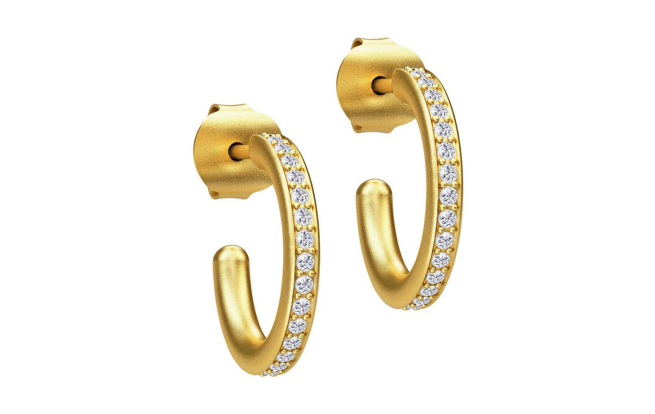 Julie Sandlau Infinity Hoop Small Earring - Gold - GOLD