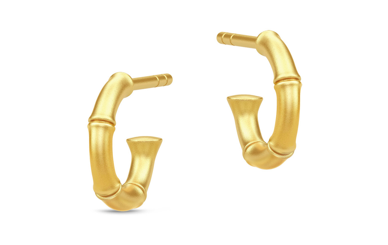 Julie Sandlau Bamboo Earring - GOLD