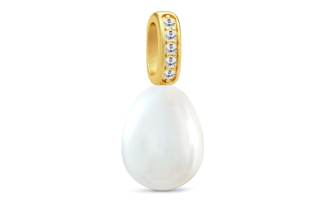 Julie Sandlau Ocean Pendant - Gold/White - WHITE