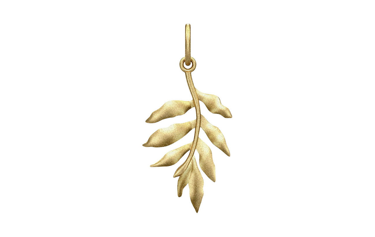 Julie Sandlau Little Tree of life pendant guld Smycken