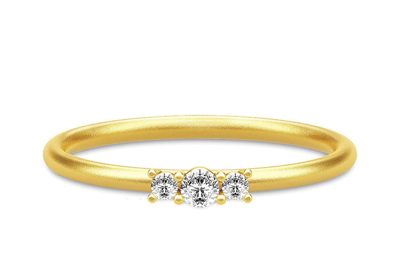 Julie Sandlau Lucy Ring 52 guld Smycken