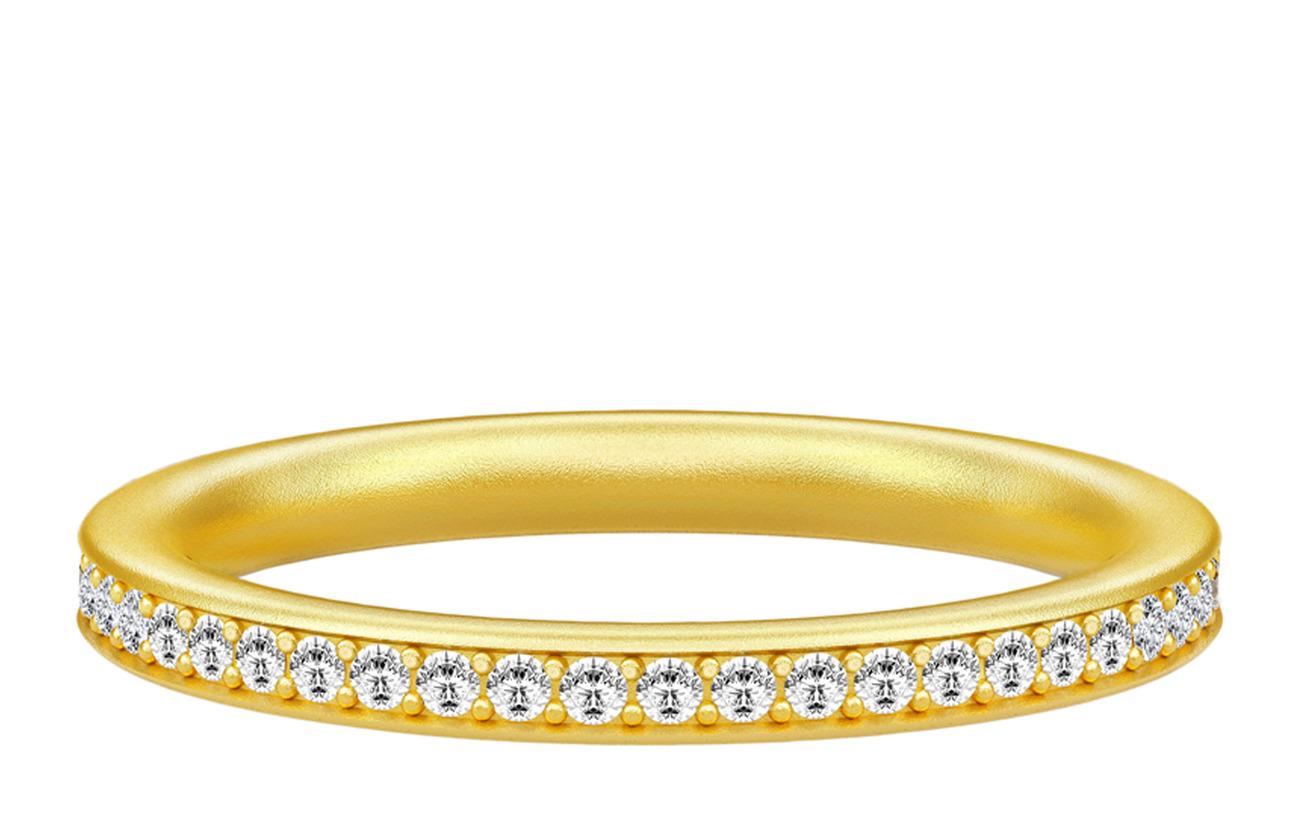 Julie Sandlau Infinity Ring 52 - Gold - GOLD