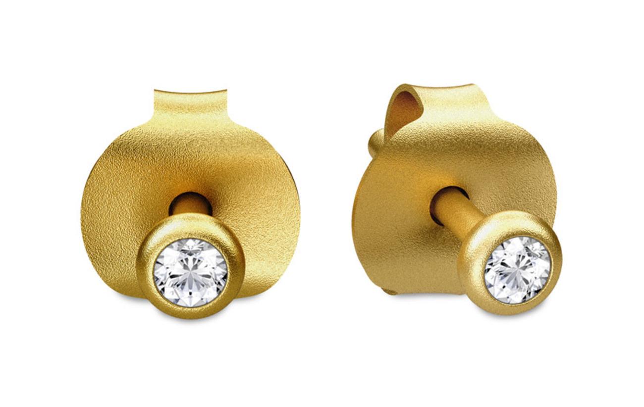 Julie Sandlau Finesse earring - Gold - GOLD