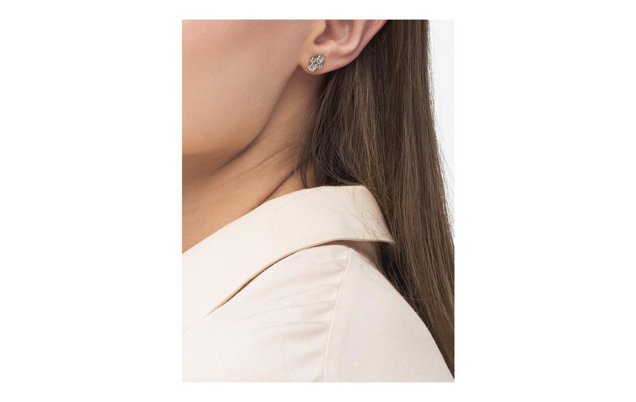 Julie Sandlau Blossom earring - Rhodium - SILVER