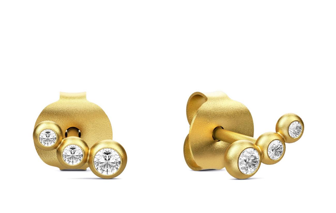 Julie Sandlau Etcetera earring - Gold - GOLD