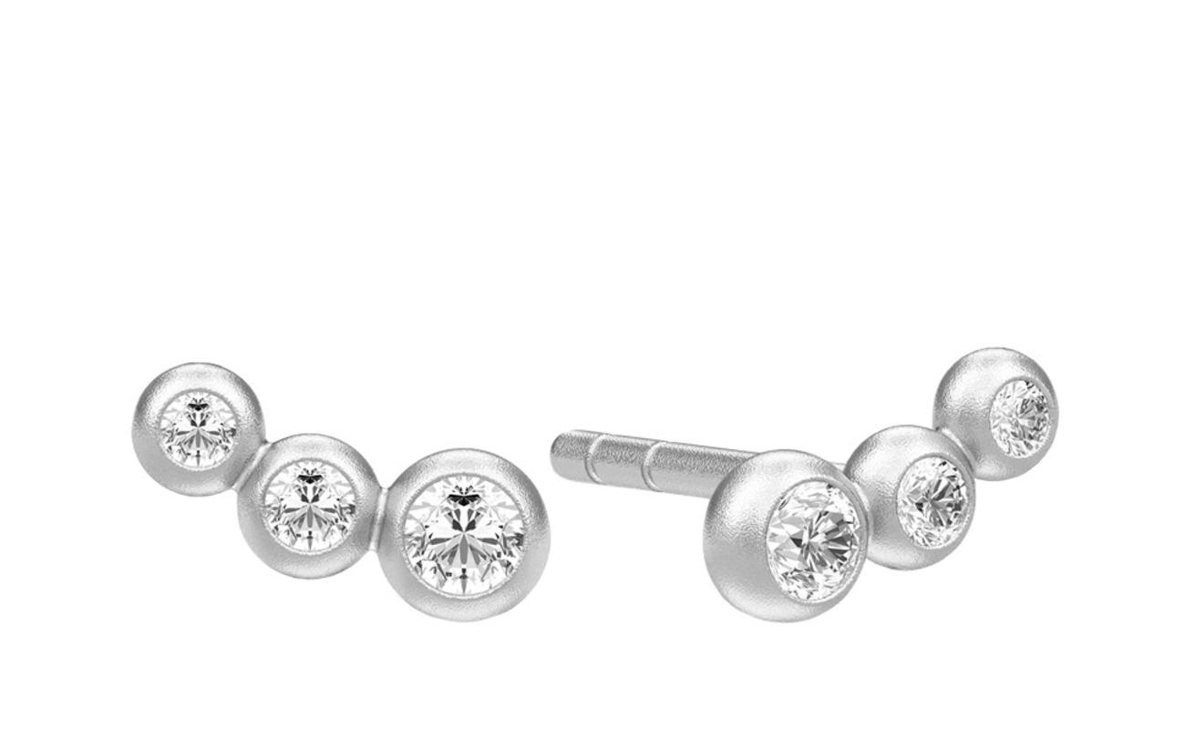 Julie Sandlau Etcetera earring - Rhodium - SILVER