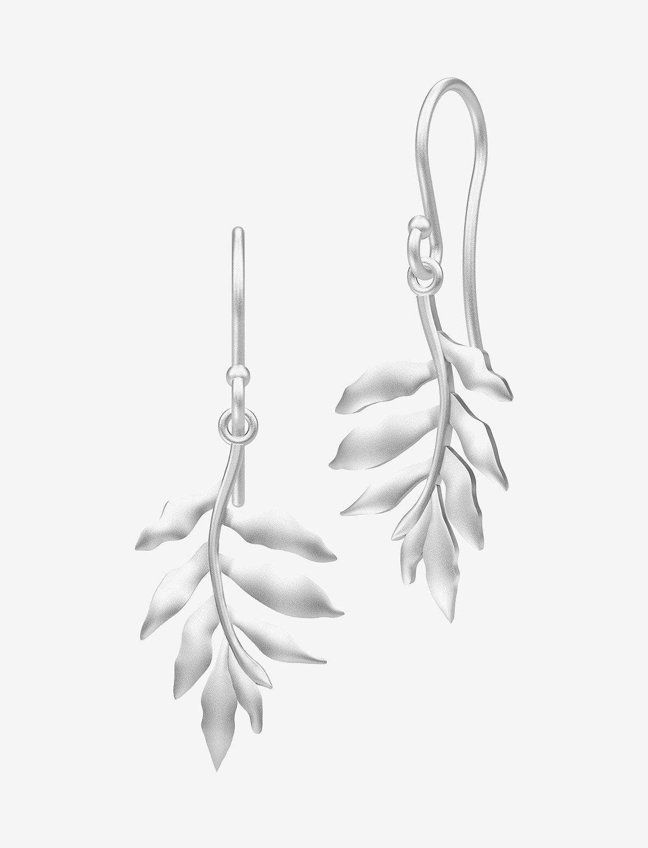 Julie Sandlau - Little tree of life earring - Rhodium - silver - 0