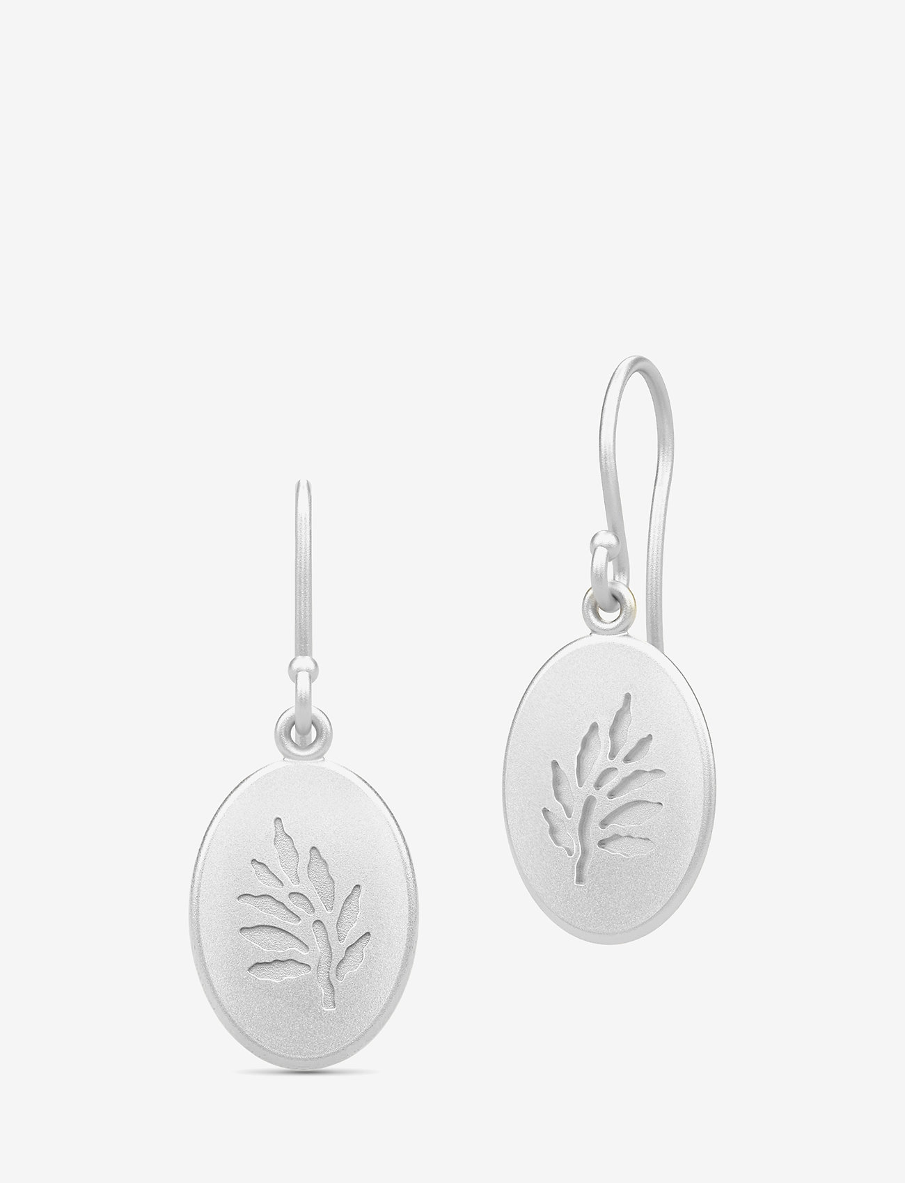 Julie Sandlau - Classic Earrings - Rhodium - hängande örhängen - silver - 0