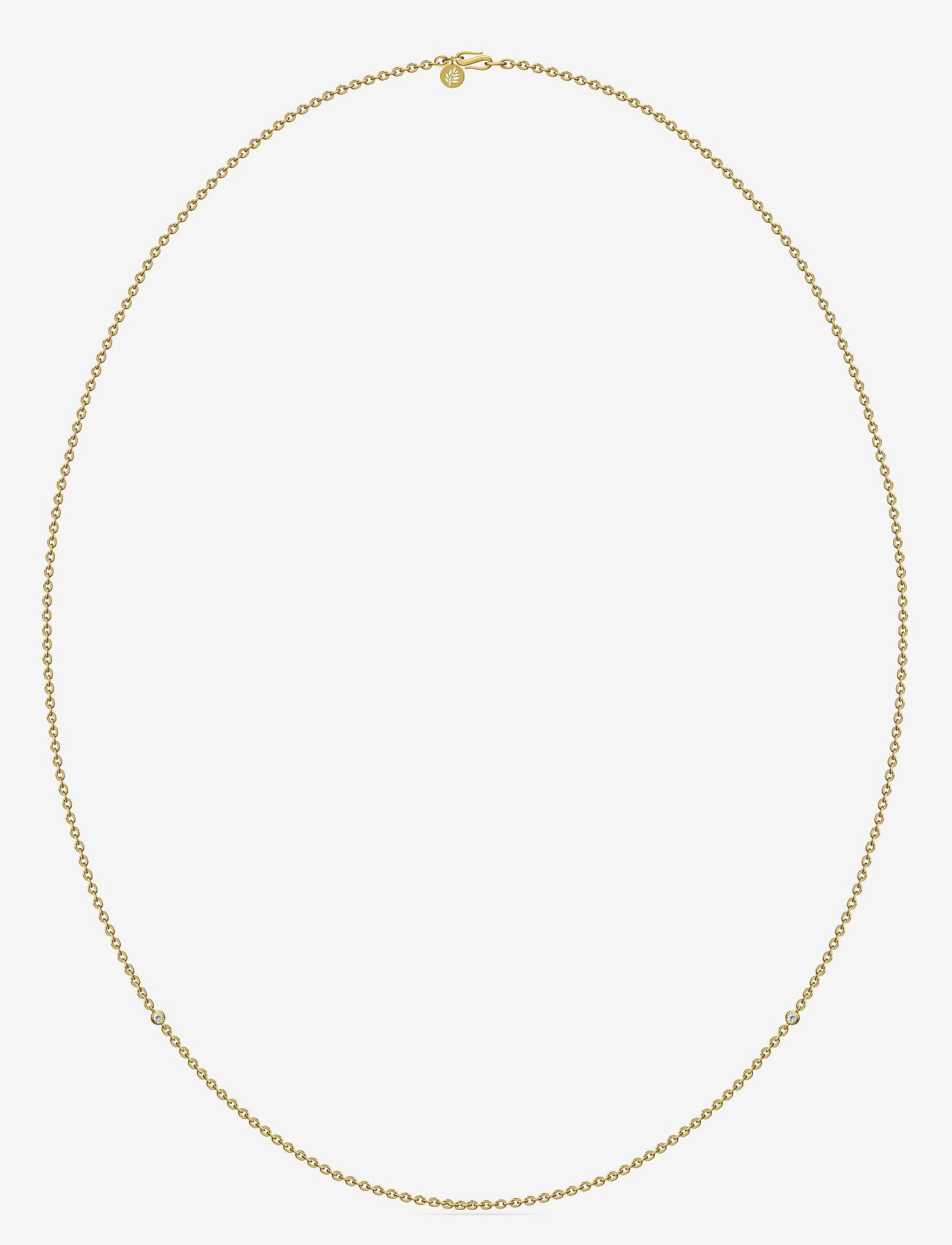Julie Sandlau - Necklace Gold - Ķēdīšu kaklarotas - gold - 0