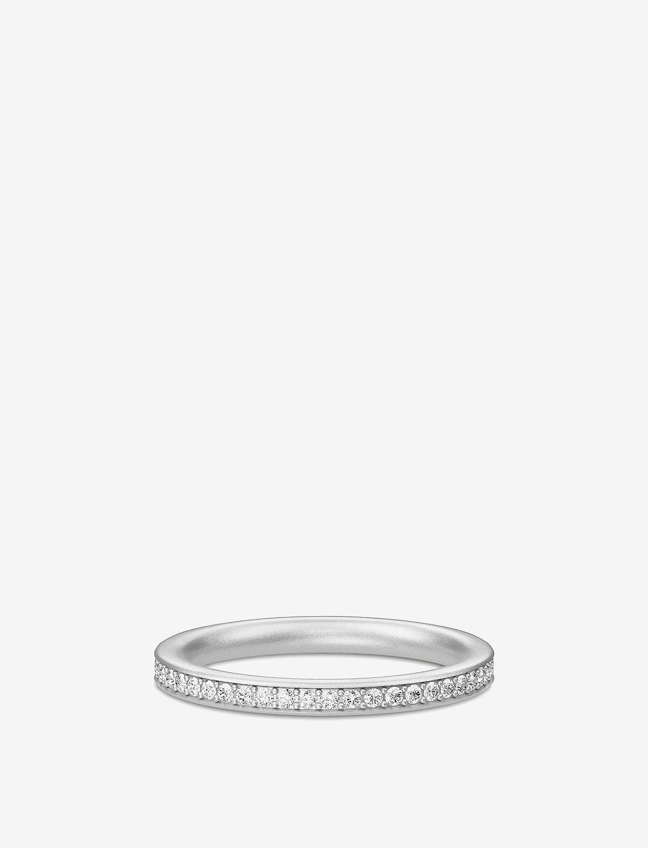 Julie Sandlau - Infinity ring - Rhodium - gredzeni - silver - 0