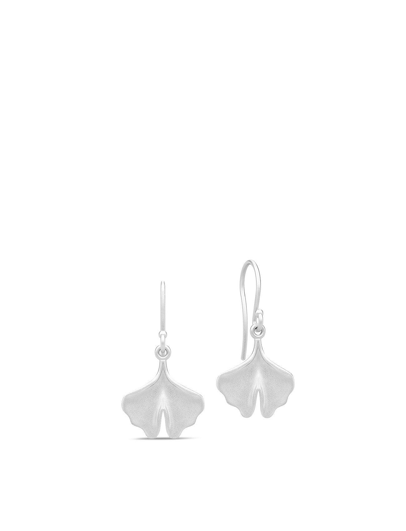 Julie Sandlau Ginkgo Earrings - SILVER