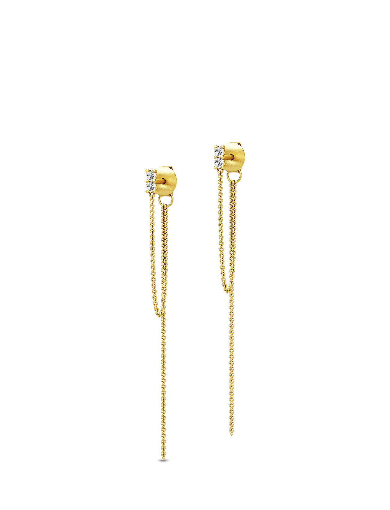 Julie Sandlau Lucia Chain Earstuds - Gold - GOLD