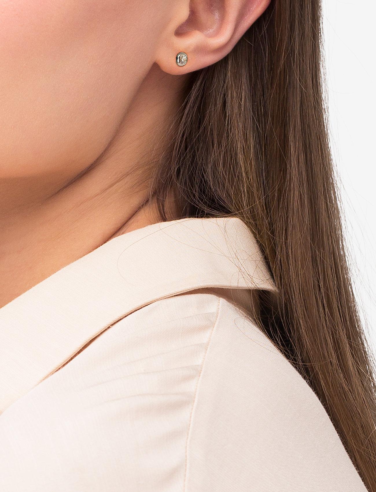 Julie Sandlau - Finesse earring - Rhodium - nagliņauskari - silver - 0