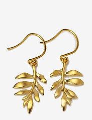 Julie Sandlau - Little tree of life earring - Gold - hängande örhängen - gold - 1