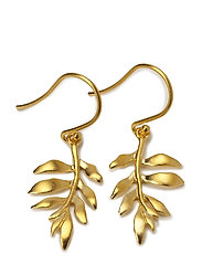 Little tree of life earring - Gold - GOLD