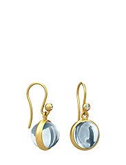 Prime Earring - Gold/Ice Blue - BLUE