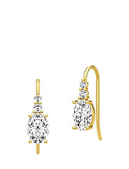 Glamour Earrings - Gold - GOLD
