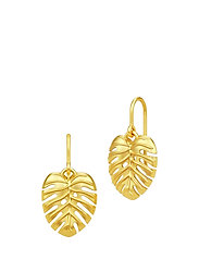 Philo Leaf Earrings - Gold - GOLD