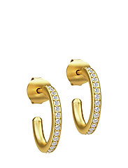 Infinity Hoop Small Earring - Gold - GOLD